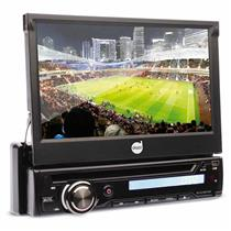 Dvd Player Automotivo Dazz DZ-5220BT-DTV Tela 7 Pol Touch Bluetooth TV Digital Usb Sd Card Aux