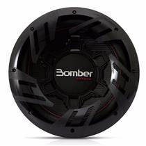 Subwoofer Bomber Carbon 12 Pol 500W RMS Bobina Dupla 4+4 Ohms