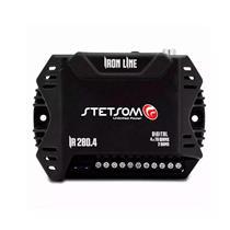 Módulo Amplificador Stetsom Iron Line IR 280.4 280W RMS 2 Ohms 4 Canais
