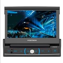 DVD Player Automotivo Pósitron SP6320BT com Tela 7 Touch Screen Bluetooth USB SD Card Entrada