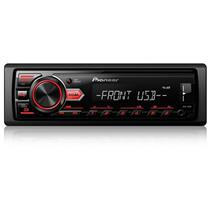 Som Automotivo Pioneer MVH-88UB Media Receiver MP3 AM/FM com Entrada USB