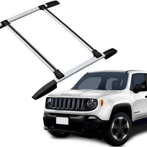 Bagageiro De Teto Projecar Jeep Renegade Larga Prata