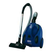 Aspirador de Pó Eletrico Black & Decker Compacto 1400W Emborrachado Ciclone Azul