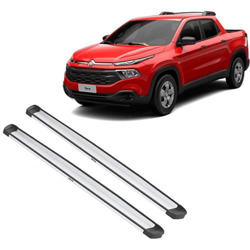 Estribo Lateral Paltaforma Bepo de Alumínio Fiat Toro sem kit instalação