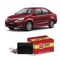 Módulo Subida De Vidro Tury Com Antiesmagamento PRO 4.8 AT Toyota Etios 2012 A 2014