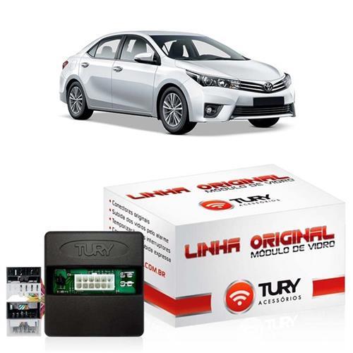 Módulo de Vidro Tury LVX5.2 CV Corolla Altis 2015 Toyota