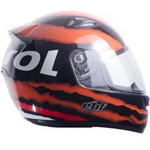Capacete Moto EBF EOX Repsol Fechado 58 Preto
