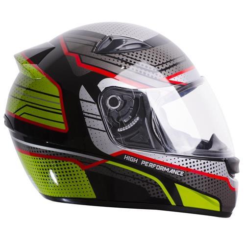 Capacete Moto EBF EOX High Performance P10 60 Preto