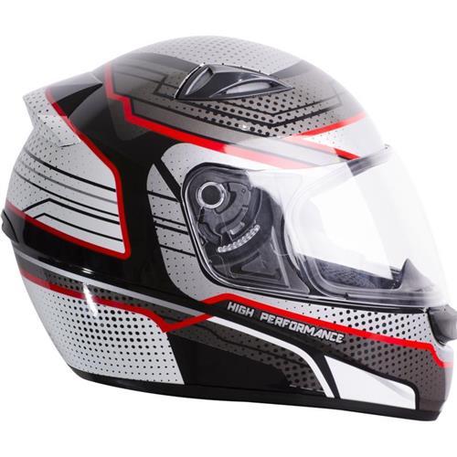 Capacete Moto EBF EOX High Performance P11 56 Preto