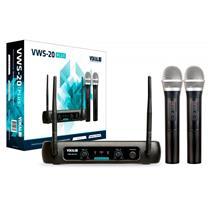 Microfone Sem Fio Profissional Vokal VWS20 Plus