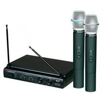 Microfone de Mão Sem Fio Karsect KRU302