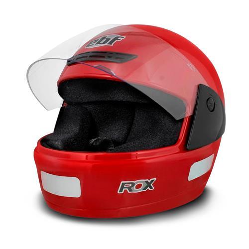 Capacete EBF Rox Fechado Tamanho 60 Vermelho