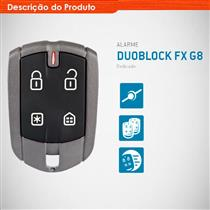 Alarme Positron Duoblock FX Fazer G8 Dedicado