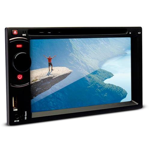 DVD Player Dazz 6.2 Pol DZ-52201BT Bluetooth USB Cartão de Memória Rádio AM/FM
