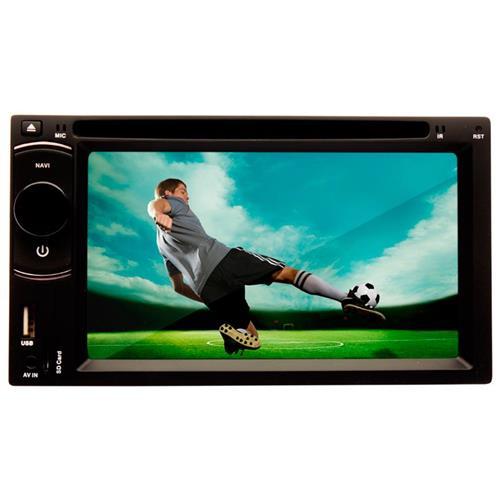 DVD Player Dazz DZ-52216BT 6.2 Pol Bluet TV Digital DVD USB AM/FM Saída RCA Entrada Câmera de Ré