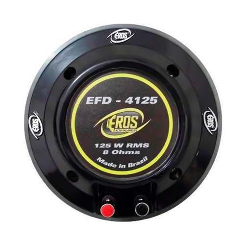 Driver Eros EFD 4125 125 RMS Fenólico 8 Ohms