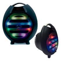 Caixa Acustica Bluetooth USB FM P2 100w Maxfesta Led