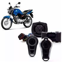 Alarme para Motos Stetsom Triplo I Com Bloqueio Antifurto 1 Controle Convencional e 1 Presença