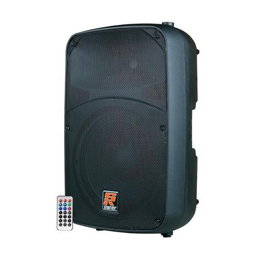"Caixa Staner SR315A 15"" 300W Bi-Amplificada USB/SD/MP3/FM/Bluetooth"