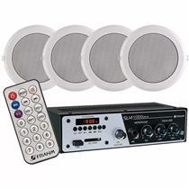Kit Sonorização Frahm Ar Slim-1000 e 4 Arandelas