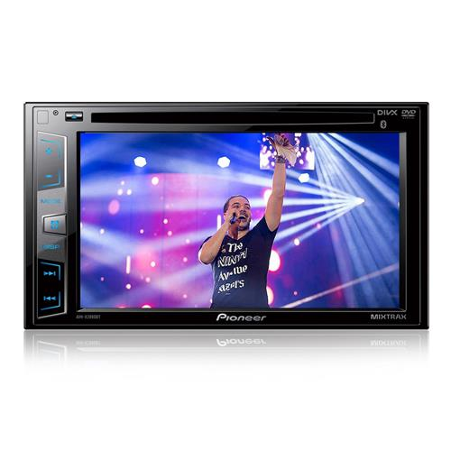 DVD Player AVH-X2880BT 2 Din Tela 6,2 Polegadas USB Mixtrax Bluetooth