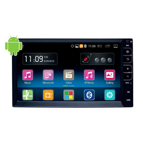 Central Multimídia Universal Caska 2 Din Android Tv Espelhamento Gps Online