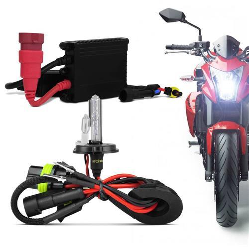 Kit Xenon KX3 Para Moto H4-2 6000K e 8000K