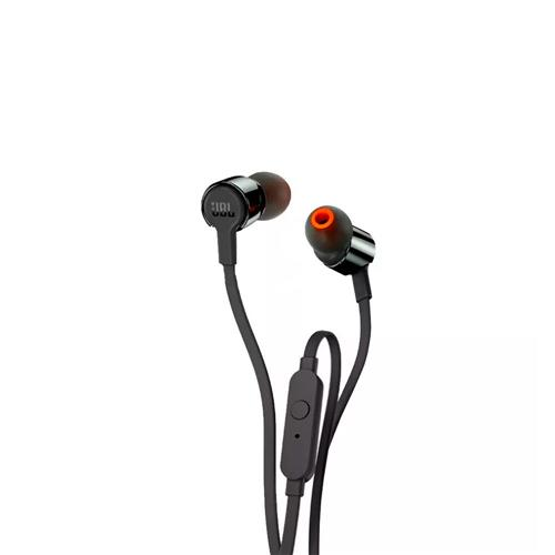 Fone de Ouvido JBL T210 Intra Auricular Com Microfone Branco/Rose