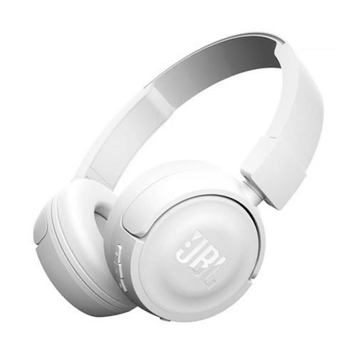 Fone de Ouvido JBL T450 On Ear Headphone Com Microfone Branco