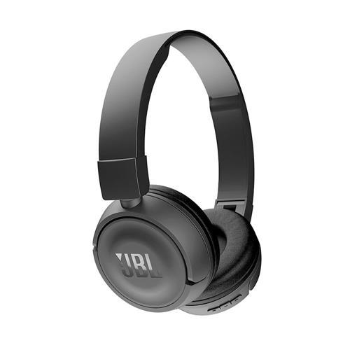 Fone de Ouvido JBL T450BT Supra Auricular Com Microfone e Bluetooth Preto