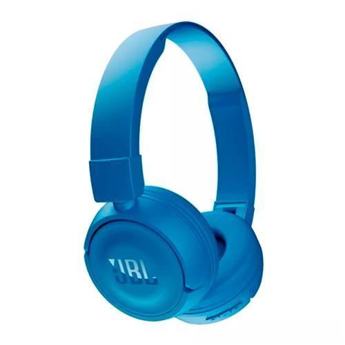 Fone de Ouvido JBL T450BT Supra Auricular Com Microfone e Bluetooth Azul