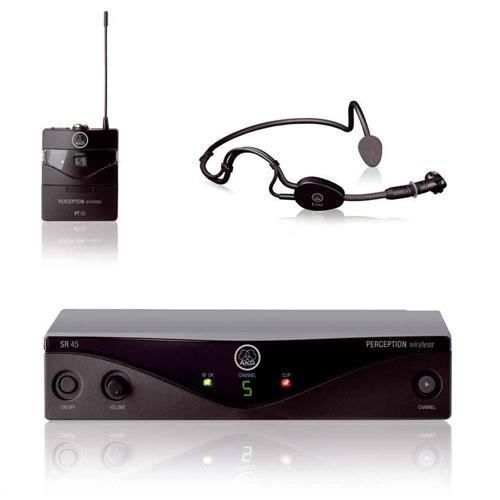 Microfone Sem Fio AKG PW SSET B1 45 Sport Headset