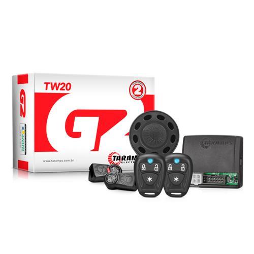 Alarme Automotivo Taramps TW20 Função Bloqueio Motor Carro