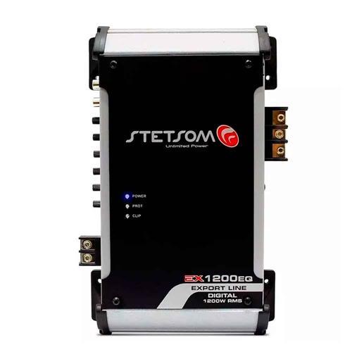 Módulo Amplificador Digital Stetsom EX1200EQ 4 Ohms 1200W 1 Canal