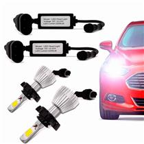 Kit Lâmpada Super Xenon Led Headlight H1 6000K 35W 12V 3200 Lumens