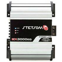 Módulo Amplificador Stetsom Export Line EX 3000 EQ 3000w Rms 1 Canal 2 Ohms Mono RCA