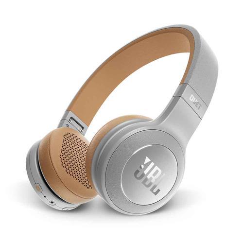 Fone de Ouvido JBL Duet On Ear Bluetooth Cinza