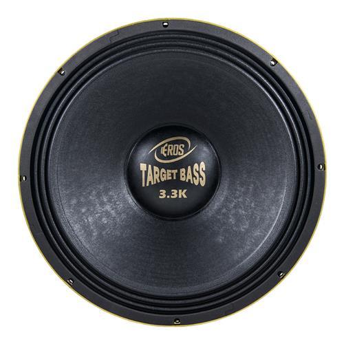 Alto Falante Eros 18 Pol 1650w Rms Target Bass 3.3K 4 Ohms