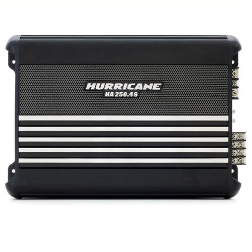 Módulo Amplificador Hurricane HA 250.4S 1000W Rms 4 Canais