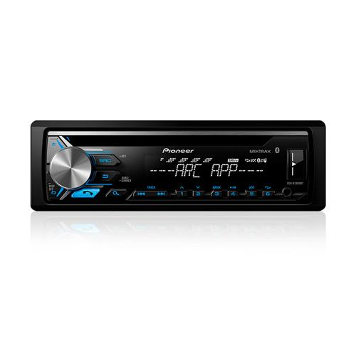 Cd Player Mixtrax Pioneer DEH-X3980BT Entrada Usb Aux AM/FM Bluetooth