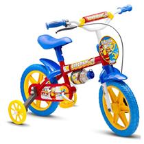 Bicicleta Infantil Nathor Fireman 9 Aro 12