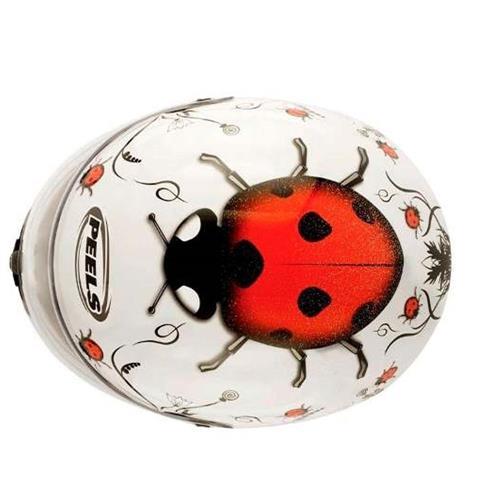 Capacete PEELS Spike Ladybug Branco/Vm 56