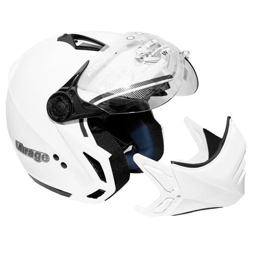 Capacete PEELS Mirage New Classic Branco 58