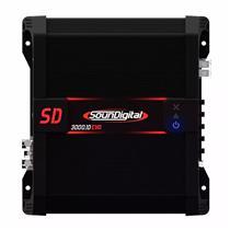 Modulo Amplificador de Som Soundigital Sd3000.1d Evo Ii Classe D 3000w Rms 2 Ohms