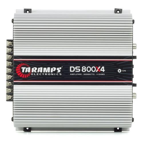 Módulo Amplificador Taramps Ds 800x4 Classe D 4 Canais 200w Rms 2 Ohms