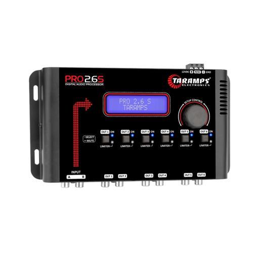 Processador De Áudio Taramps Pro 2.6s 6 Canais