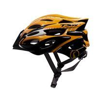 Capacete Bike Mtb Tam M/g Tsw Elite Laranja/preto/branco