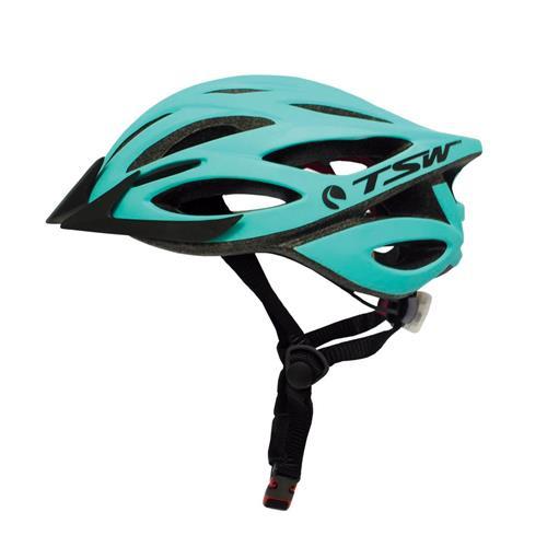 Capacete Tsw Tam G/gg Ciclista Profissional Verde Preto Plus