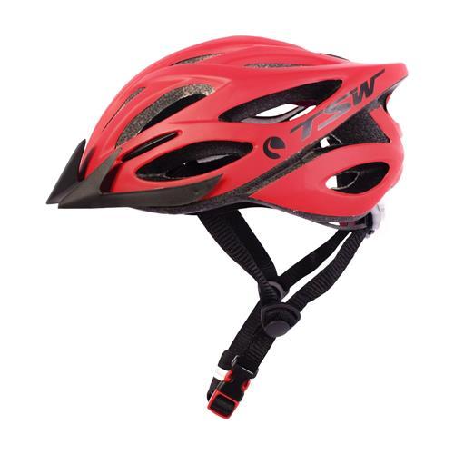 Capacete Bike Mtb Tsw Plus 85 Tam G/gg Vermelho/preto