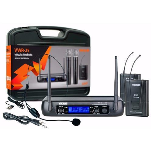 Microfone Headset  Vokal  VWR15H